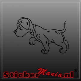 Hond 25 sticker