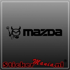 Mazda 4 sticker