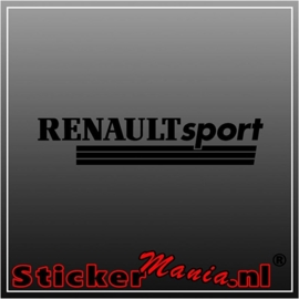 Renault sport 2 sticker