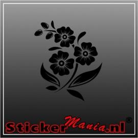 Bloem 2 sticker