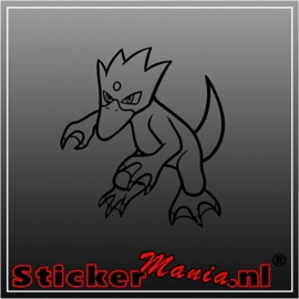 Golduck sticker