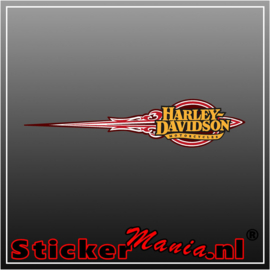 Harley davidson motorcycles 2 Full Colour sticker