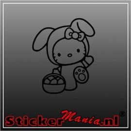 Hello kitty paashaas sticker
