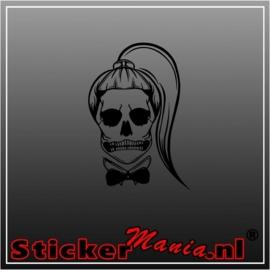 Skull 15 sticker