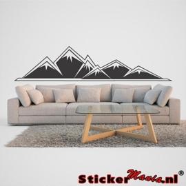 Muursticker bergen 2