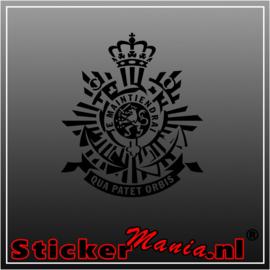 Korps mariniers logo sticker
