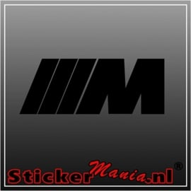BMW M serie sticker
