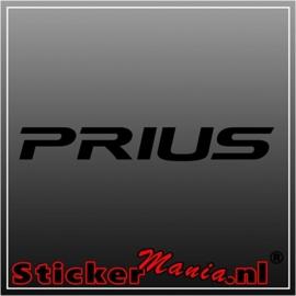 Toyota prius sticker