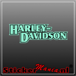 Harley davidson 2 Full Colour sticker