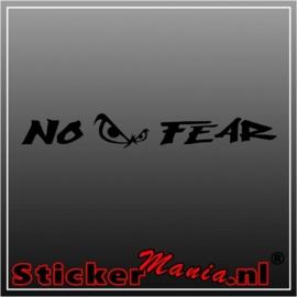 No fear raamstreamer sticker