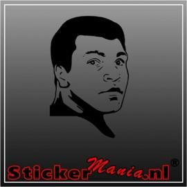 Muhammed ali sticker