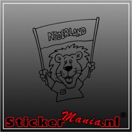 Leeuw Nederland Vlag
