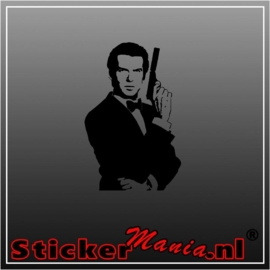 James bond sticker