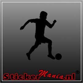 Voetbal 5 sticker