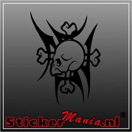 Skull 44 sticker