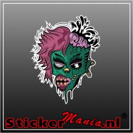 Zombie 2 Full Colour sticker