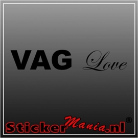 Vag love sticker