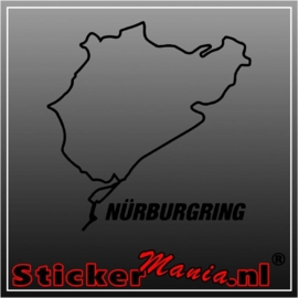 Nurburgring circuit sticker