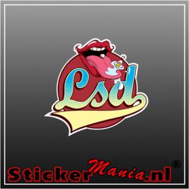 LSD Full Colour sticker