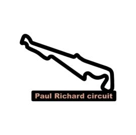 Paul Richard circuit op voet