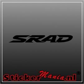 Suzuki srad sticker