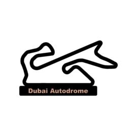 Dubai Autodrome op voet