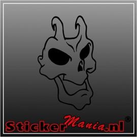 Skull 67 sticker