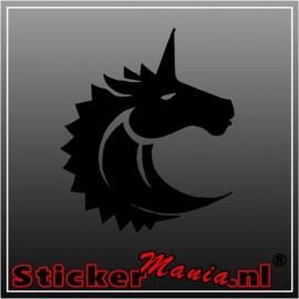 Eenhoorn 4 sticker