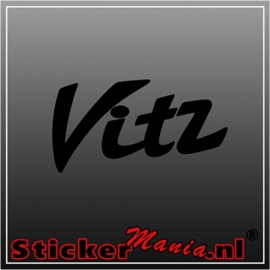 Toyota vitz sticker