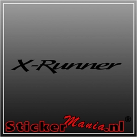 Toyota x runner sticker