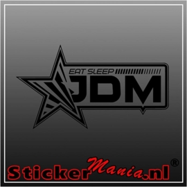 Eat sleep JDM 2 sticker