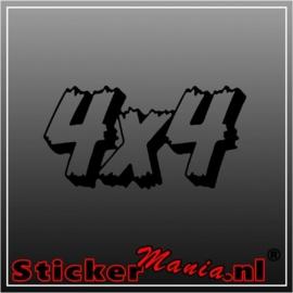 4X4 1 sticker