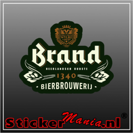 Brand bier 2 full colour sticker