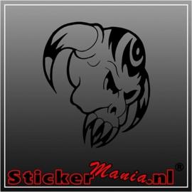 Skull 48 sticker