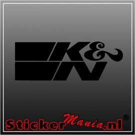K&N sticker