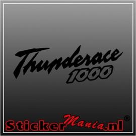 Yamaha thunderace 1000 sticker