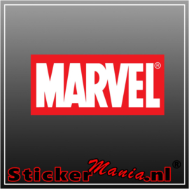 Marvel full colour sticker