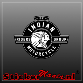Indian motorcycle full colour