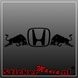 Honda bulls sticker