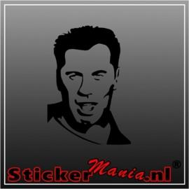 John travolta sticker