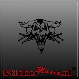 Skull 25 sticker
