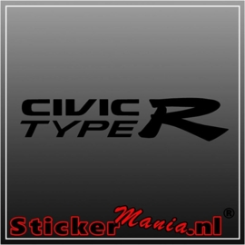 Honda civic type R sticker