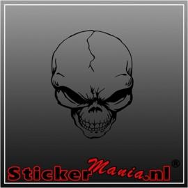 Skull 42 sticker