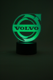 Volvo logo led lamp