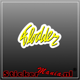 Flodder Full Colour sticker