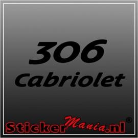 Peugeot 306 cabriolet sticker