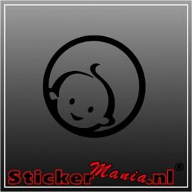 Zwitsal baby sticker