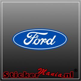 Ford Logo Full Colour sticker