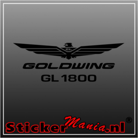 Honda goldwing GL1800 sticker