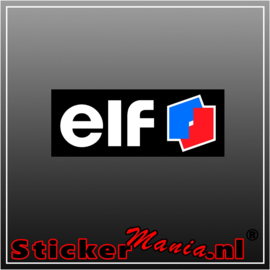 Elf Full Colour sticker